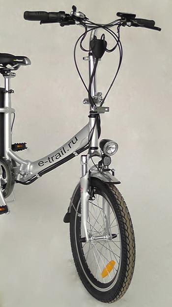 Складной велосипед с мотором Motus GS new