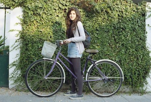 Велосипед с заниженной рамой для женщин