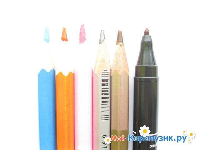 Поэтапное рисование мальчика цветными карандашами - фото 1