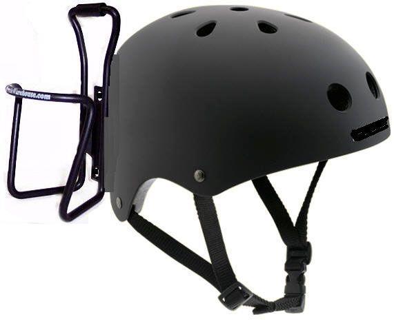 флягодержатель на шлеме