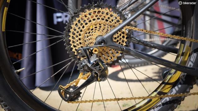 Комплектующие для горного велосипеда SRAM X01 Eagle