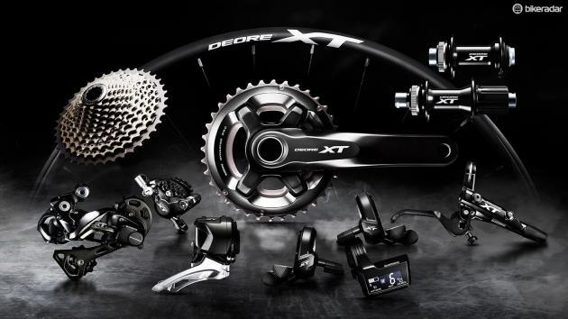 Групсет для горного велосипеда Shimano XT Di2