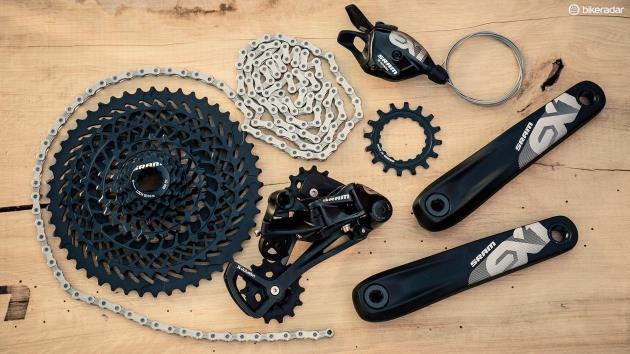 Комплектующие для горного велосипеда SRAM EX1