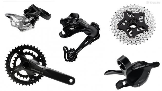 Групсет для горного велосипеда SRAM X5