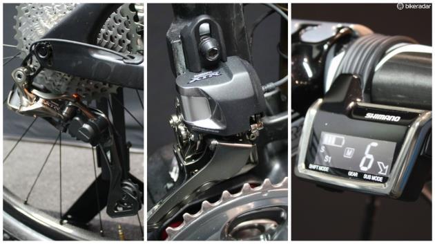 Групсет горного велосипеда Shimano Deore XT и XTR Di2