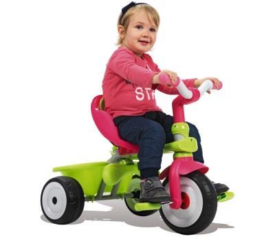 Учим ребенка езде на трехколесном велосипеде
