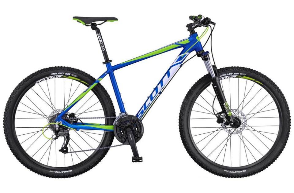 Горный велосипед Scott Aspect 750 (2016) с алюминиевой рамой
