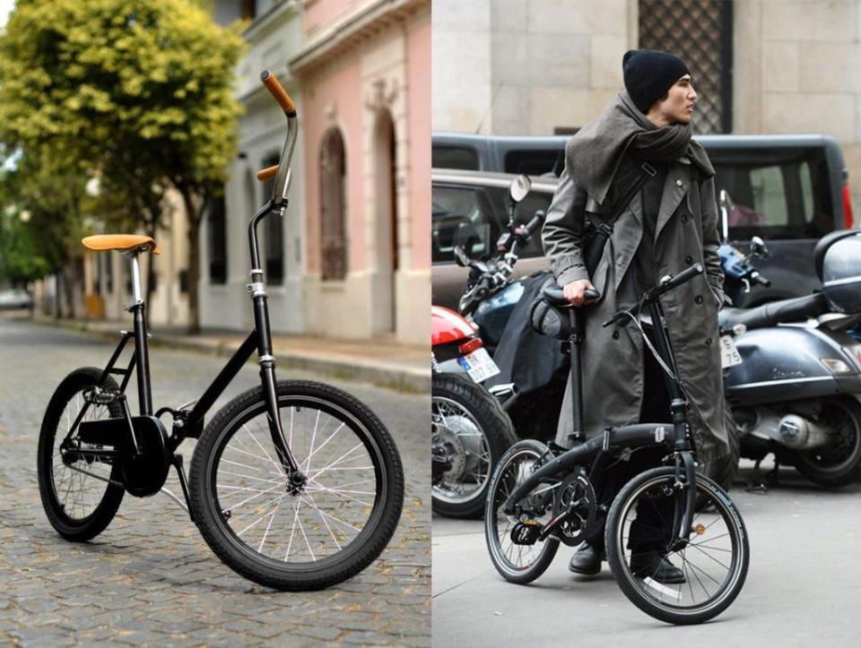 Складной велосипед удобно сберегать и транспортировать