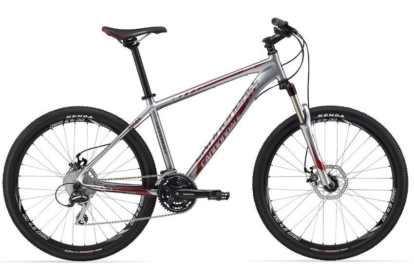 Кросс-кантри велосипед Cannondale Trail 5 (2012) с дисковыми (механическими) тормозами