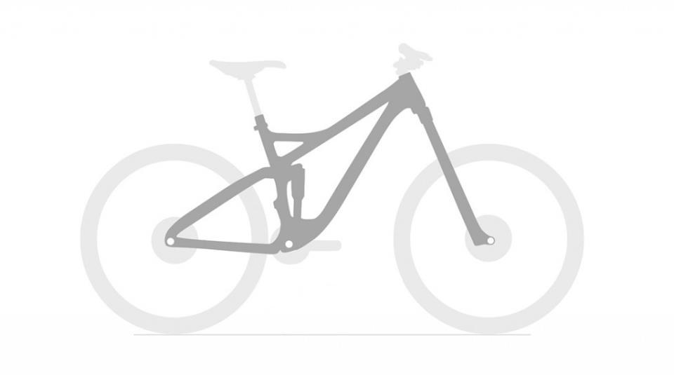 Рама горного велосипеда может выглядеть так