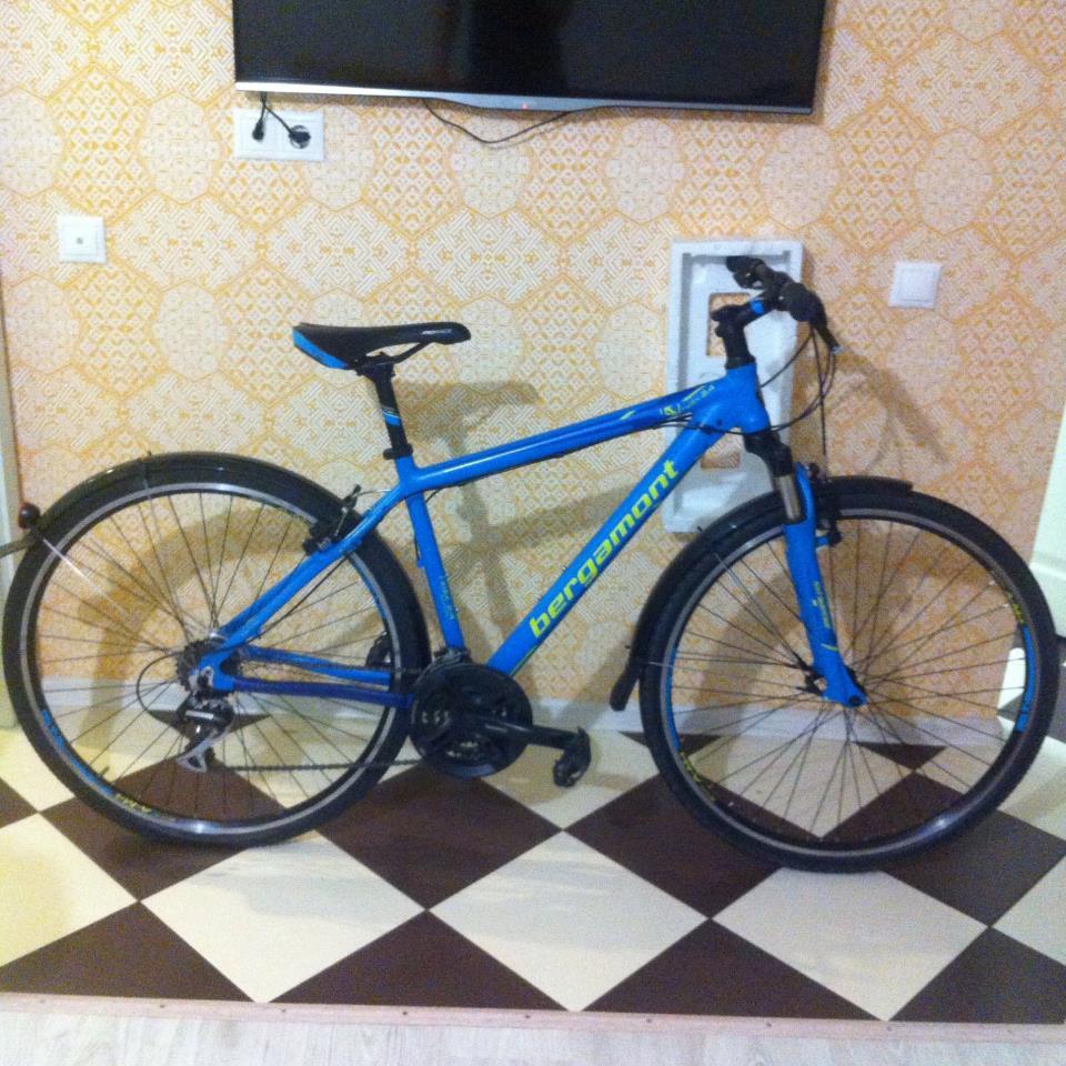 велосипед с крыльями Trekking 28