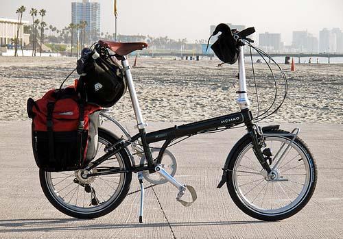 Складной велосипед Dahon с велобаулом