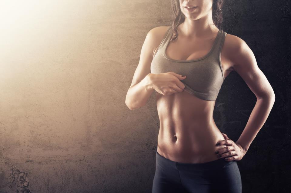 Упражнение поможет сделать тонкой талию