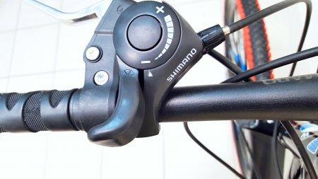 """Велосипед BMW 26"""" black/red, литые диски, 10 лучей"""