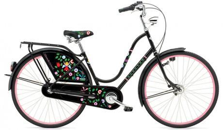 Велосипед ELECTRA Amsterdam Girard 3i Black Tree of Life