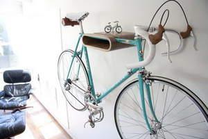 Как воспользоваться велосипедом в интерьере