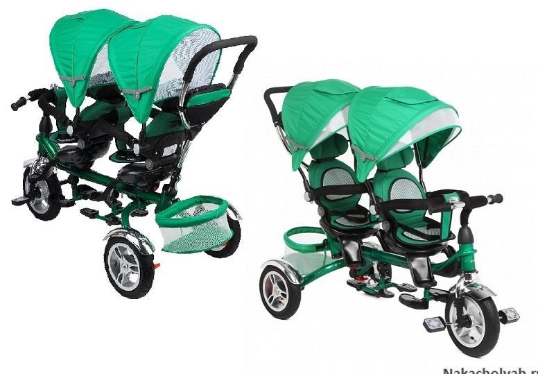 велосипед для двойни капелла twin trike 360 отзывы