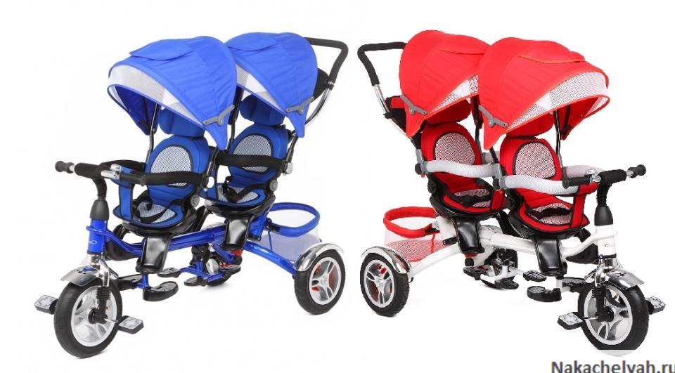 отзывы на велосипед для двойни капелла twin trike 360