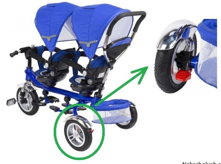 колеса к велосипеду капелла для двойни