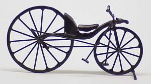 Первый велосипед Киркпатрика Макмиллана с педалями
