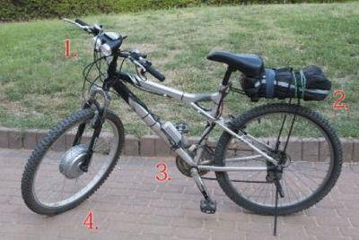 самодельное мотор колесо для велосипеда