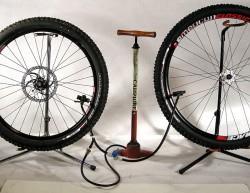 накачка колес