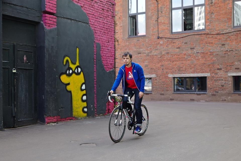 Классический городской велосипед