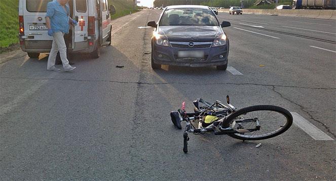 ДТП с участием велосипедиста