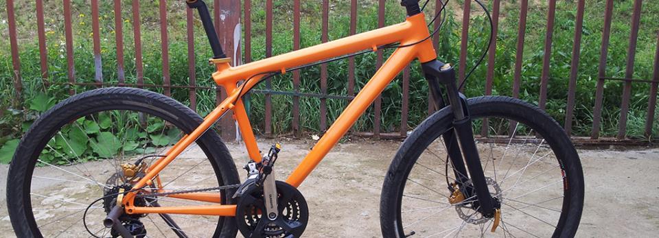 Велосипед цвета покрасить