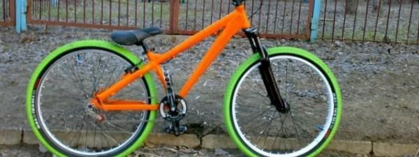 Как покрасить горный велосипед