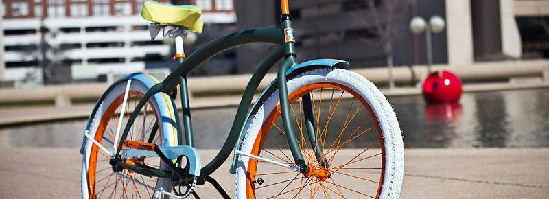 Покраска велосипеда тюнинг