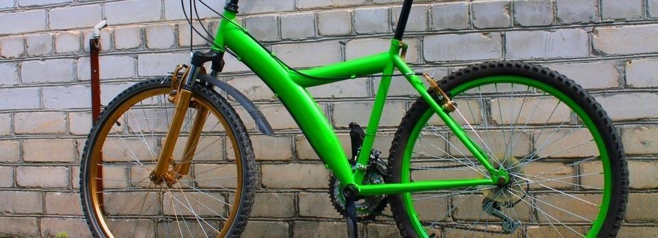 Как красиво покрасить велосипед