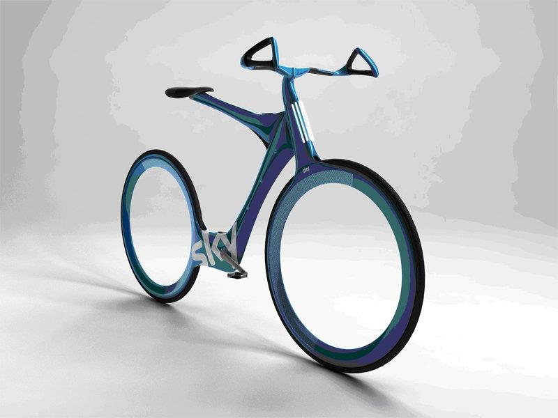 Велосипед Криса Бордмена