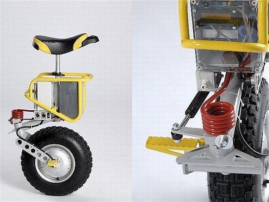 Одноколёсный электро-велосипед