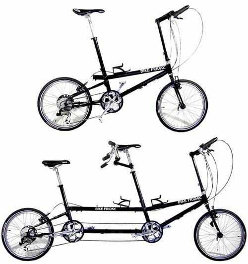 Складной тандем Bike Friday XLQ Traveler Tour