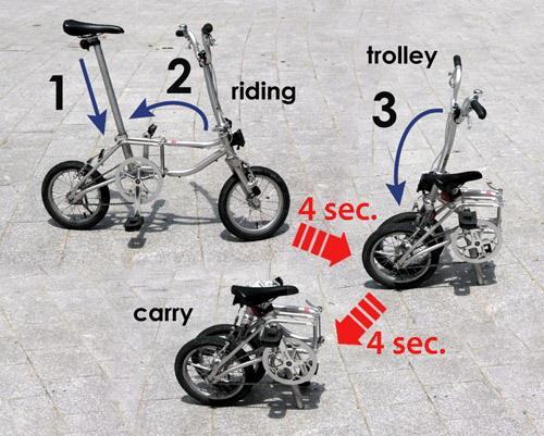 Складной велосипед JZ88