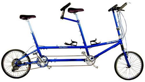 Складной тандем Bike Friday