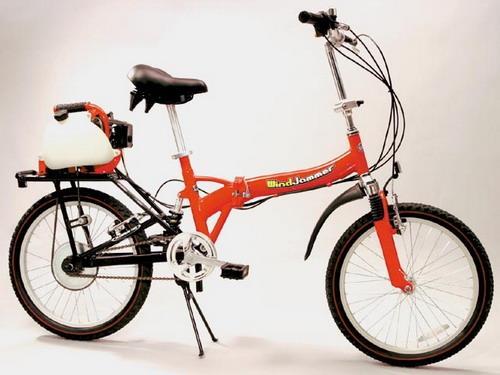 Windjammer, складной велосипед с мотором