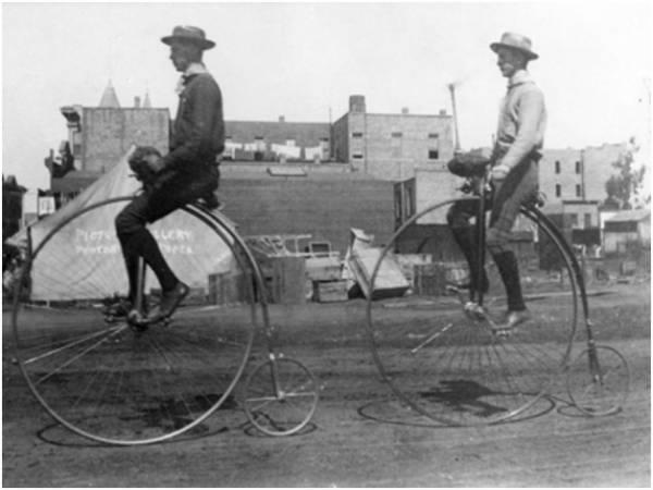 Велосипеды! Как появились велосипеды! История велосипедов! Велосипед-паук, велосипед пенни-фартинг