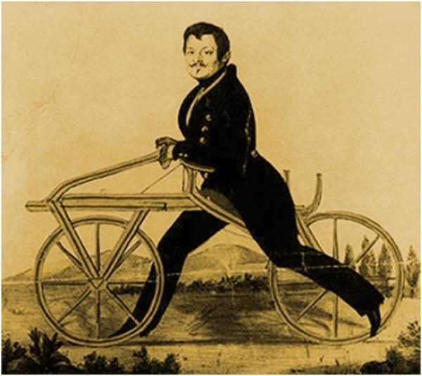 Велосипеды! Как появились велосипеды! История велосипедов! Велосипед-самокат Дреза