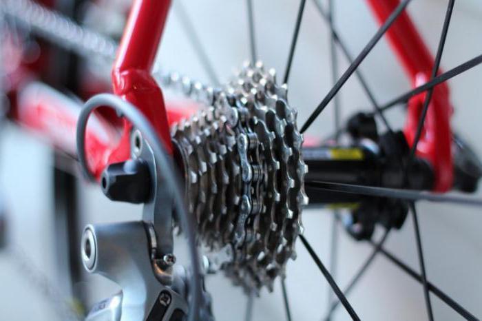 части скоростного велосипеда