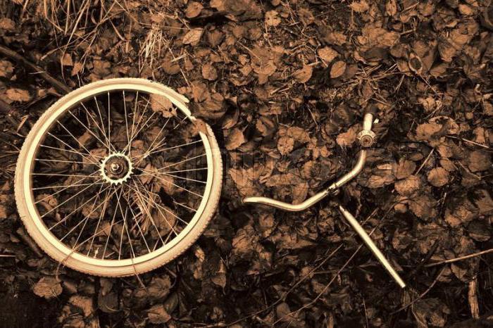 составные части велосипеда