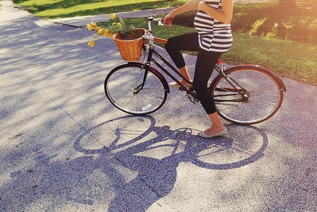 Польза велосипеда для женщин - Беременность