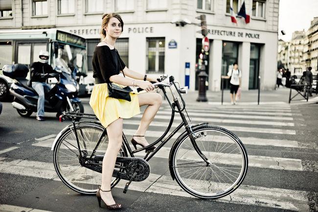 Польза велосипеда для женщин - Против целлюлита