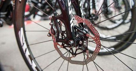 тормозной диск велосипеда