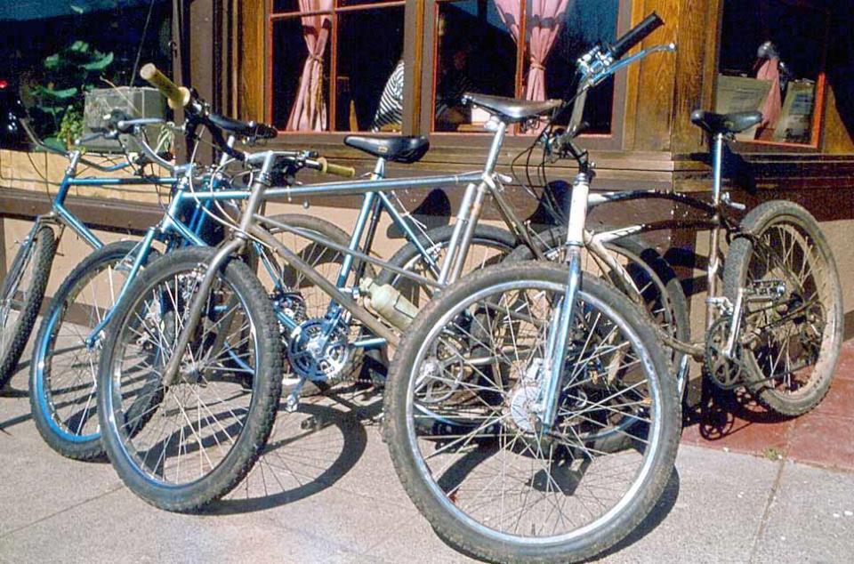 Первые горные велосипеды фото