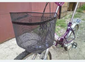 Задняя корзина для велосипеда