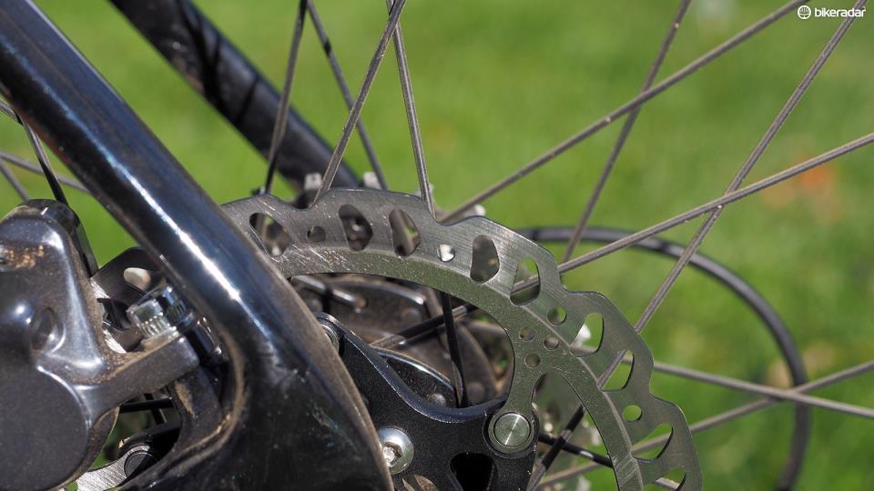 Дисковый велосипедный тормоз