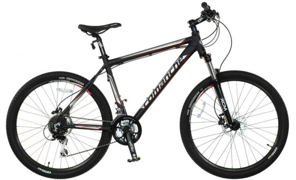 Топ-5 лучших велосипедов 3 место-Comanche Hurricane Comp