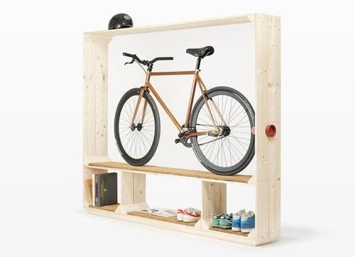 Где ставить велосипед в квартире